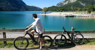 Molveno- giro del lago in bicicletta