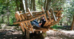 Pradel- il nido del sentiero Sciury