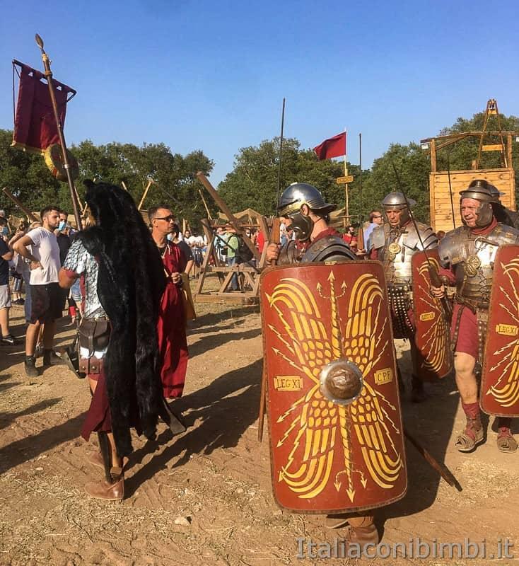 Roma World- parata dei soldati romani