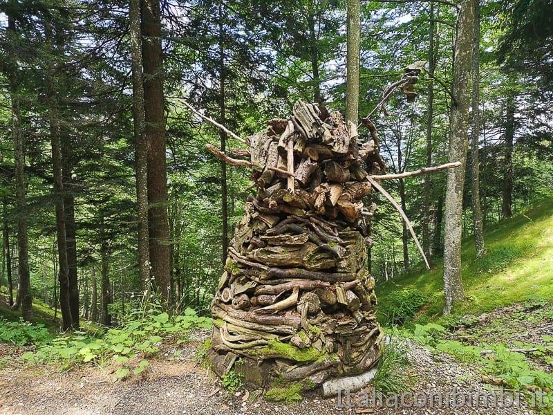 Sentiero il Respiro degli alberi- legno