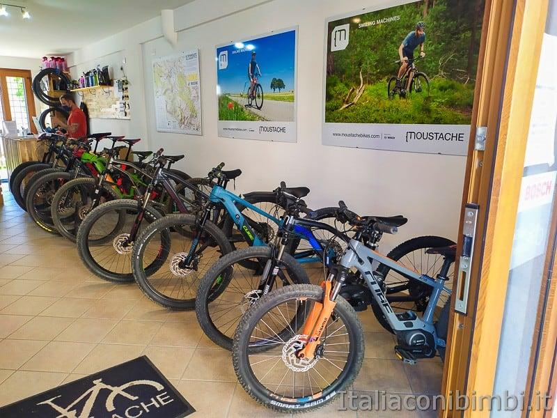 Bike Le Rocche- noleggio biciclette