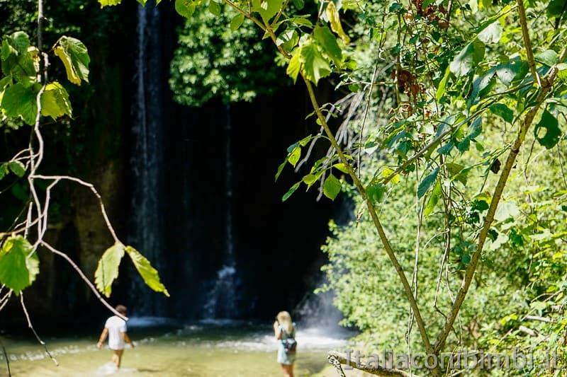 Cascatelle di Sarnano- cascata dell'antico mulino
