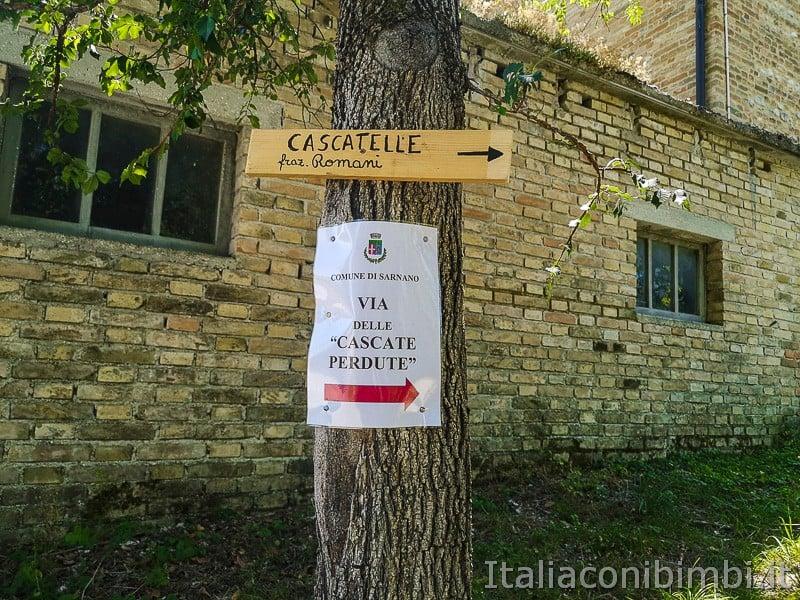 Cascatelle di Sarnano- cascatelle dei Romani