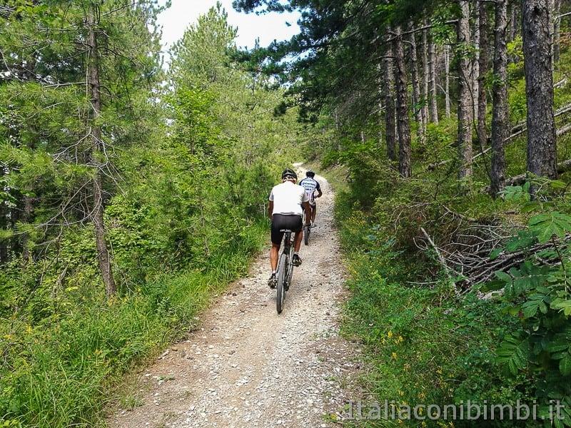 Casteltrosino-ciclisti