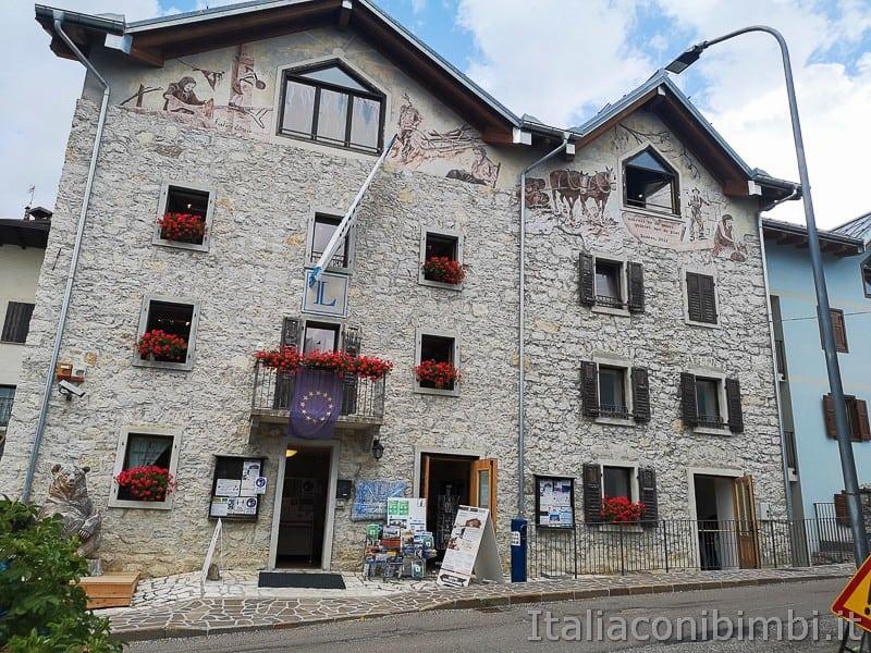 Centro di documentazione Luserna - Alpe Cimbra- esterno