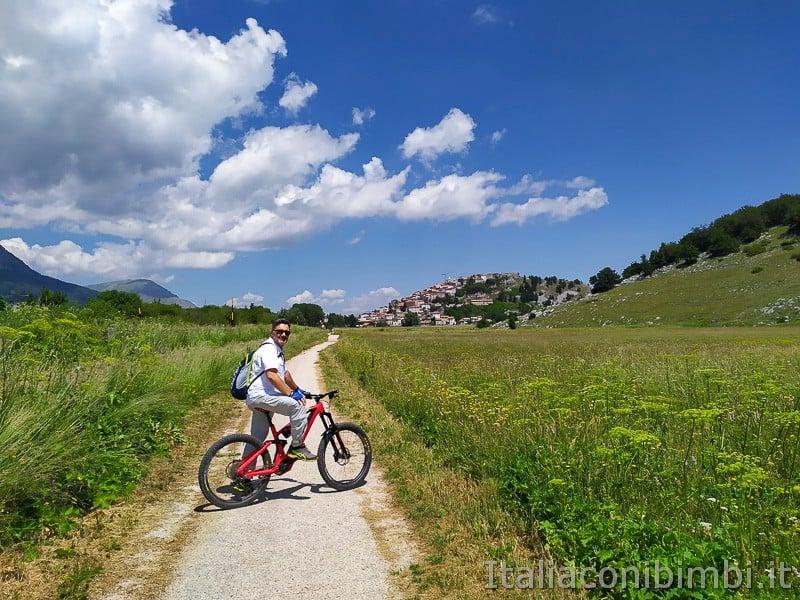 Ciclabile dell'Altopiano delle Rocche- verso Rovere