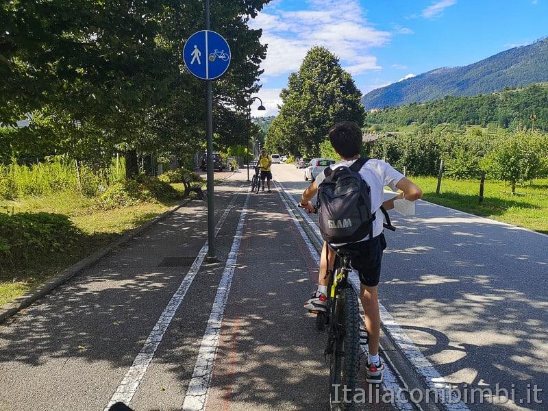 Ciclabile della Valsugana- verso il lago di Caldonazzo