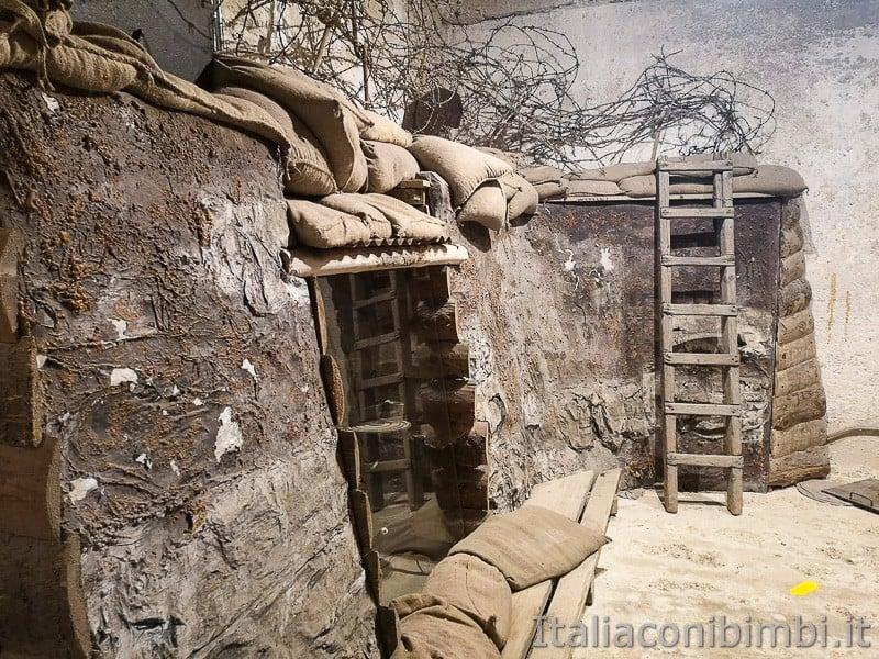 Forte Belvedere- altro lato trincea