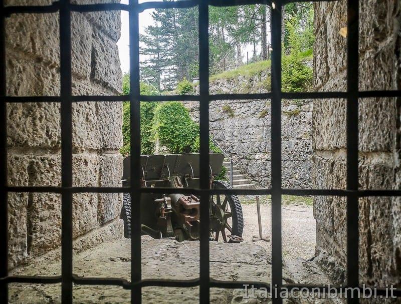 Forte Belvedere- cannoni