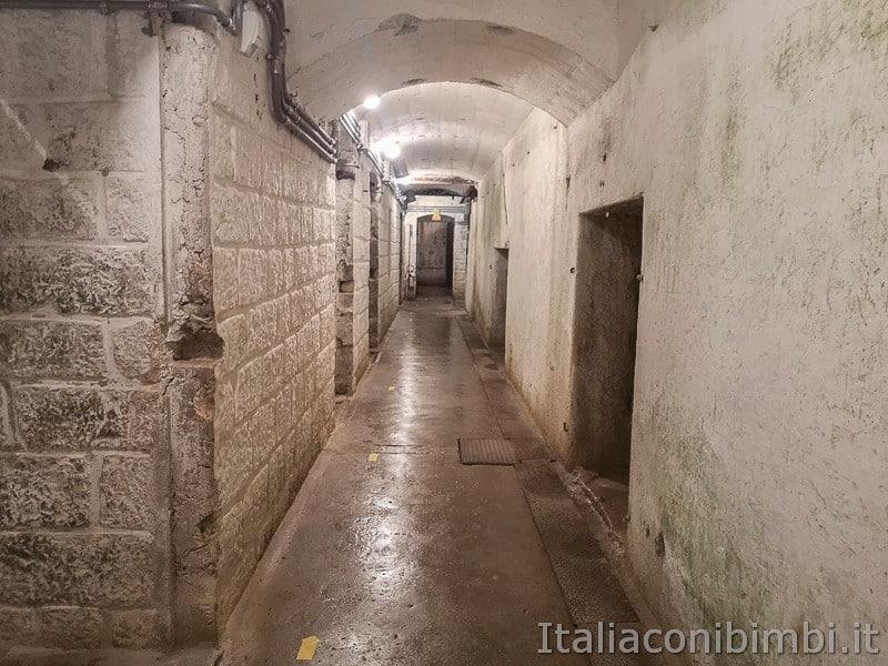 Forte Belvedere di Lavarone- corridoi