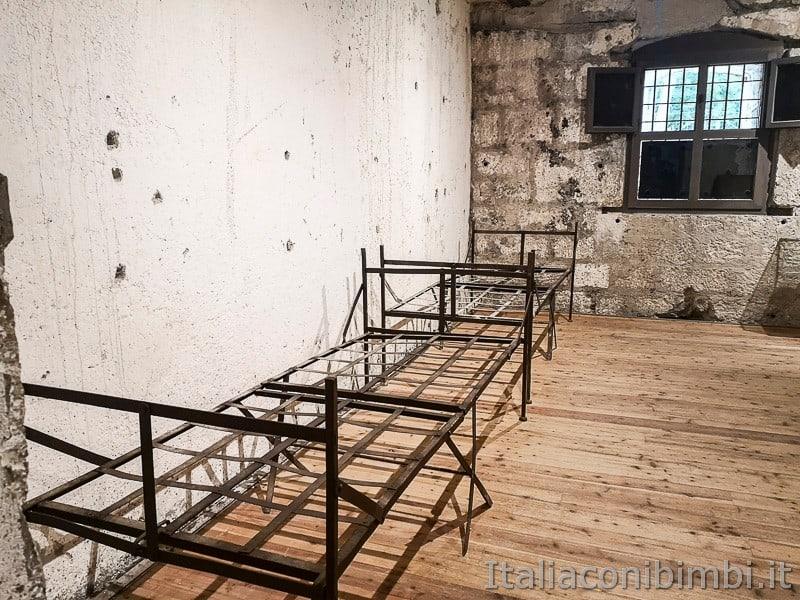 Forte Belvedere- letti di ferro