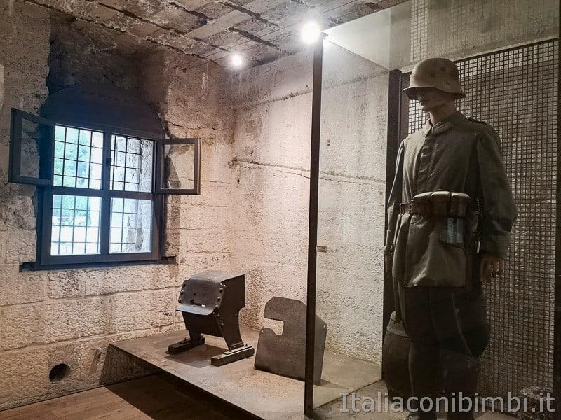Forte Belvedere- soldato