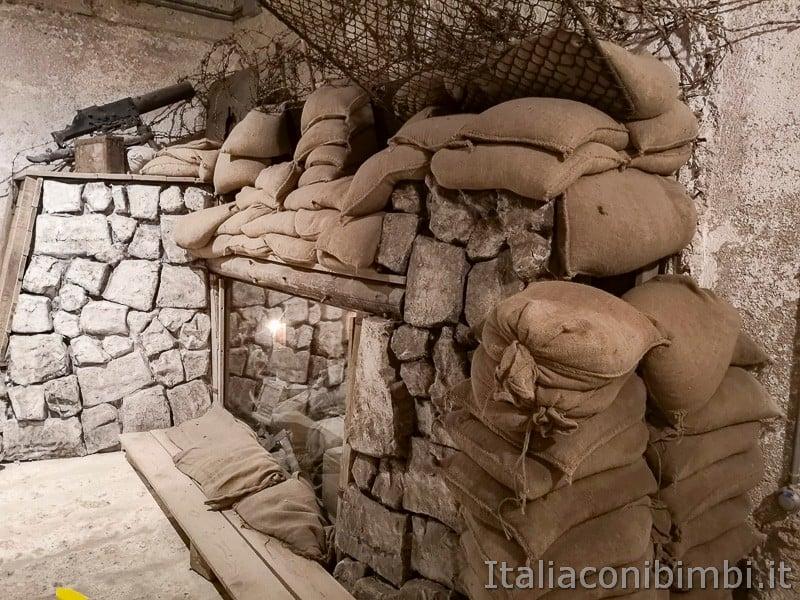Forte Belvedere- trincea