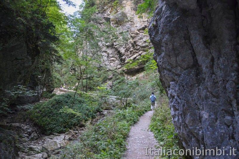 Gole dell'Infernaccio- rocce
