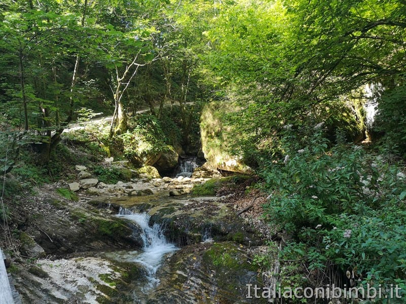 Gole dell'Infernaccio- torrente