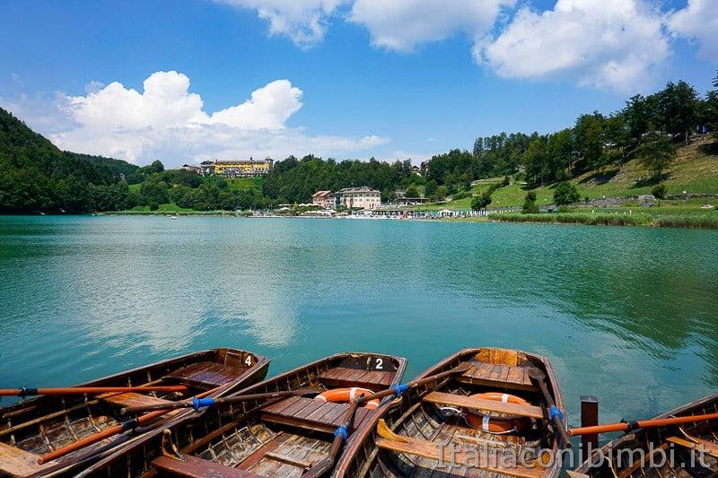 Lago di Lavarone- barchett