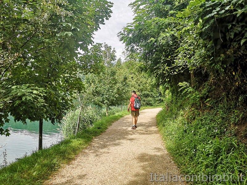 Lago di Levico- Paolo sulla strada dei Pescatori