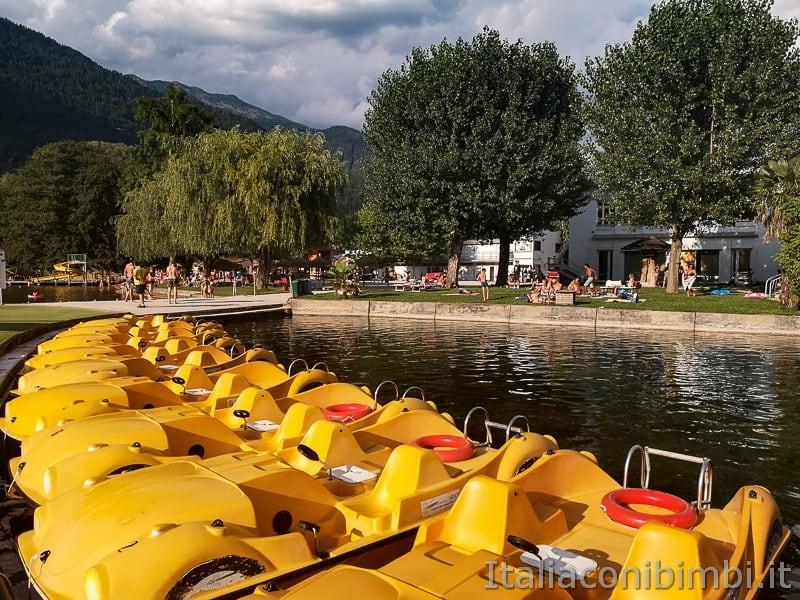 Lago di Levico- barchette