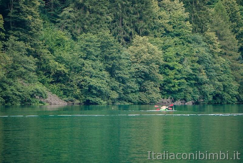 Lago di Levico- canoa