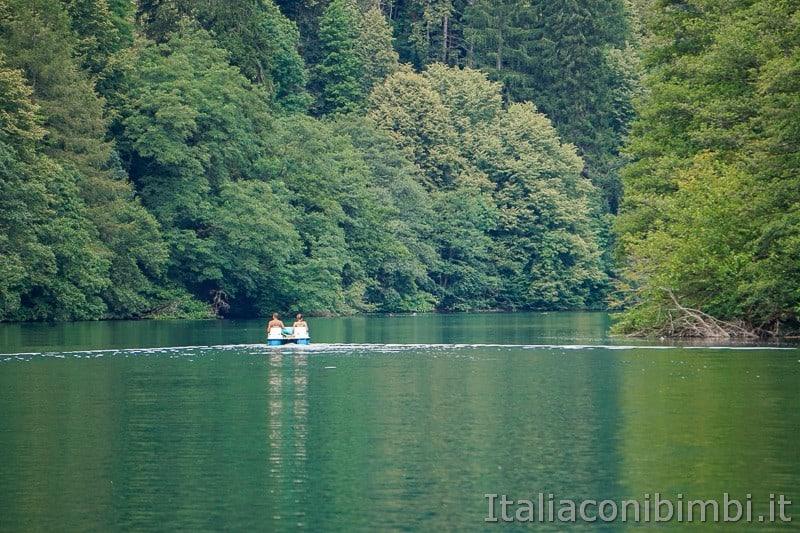 Lago di Levico- pedalò