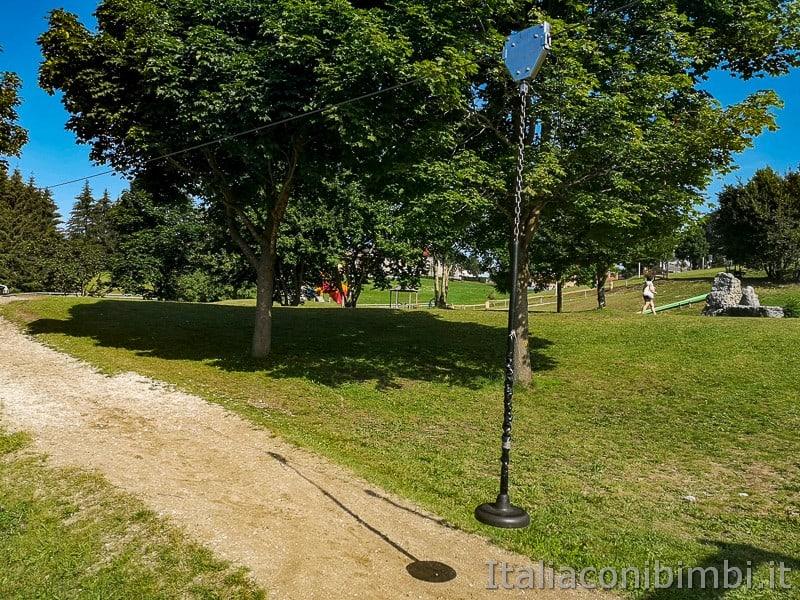 Parco Palù - gioco teleferica