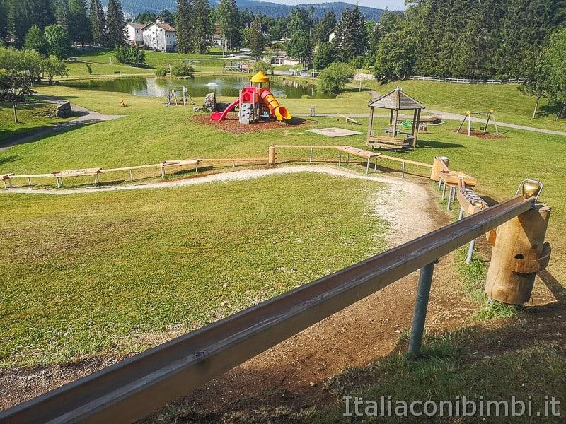 Parco Palù - nuovo gioco delle campane cimbre