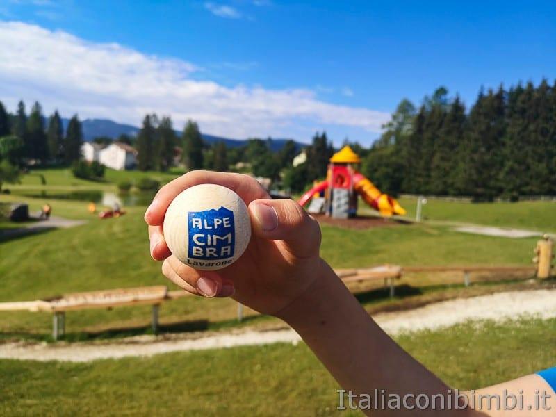 Parco Palù - pallina Alpe Cimbra