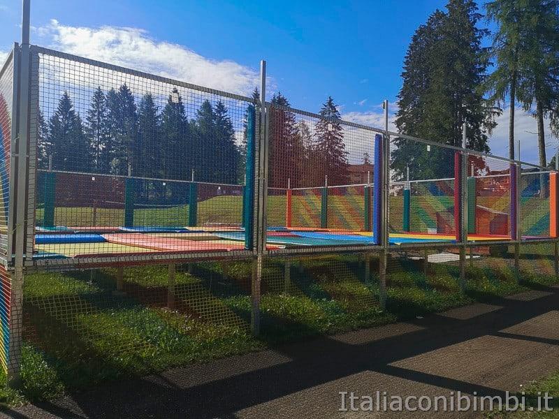 Parco Palù - tappeti elastici per saltare