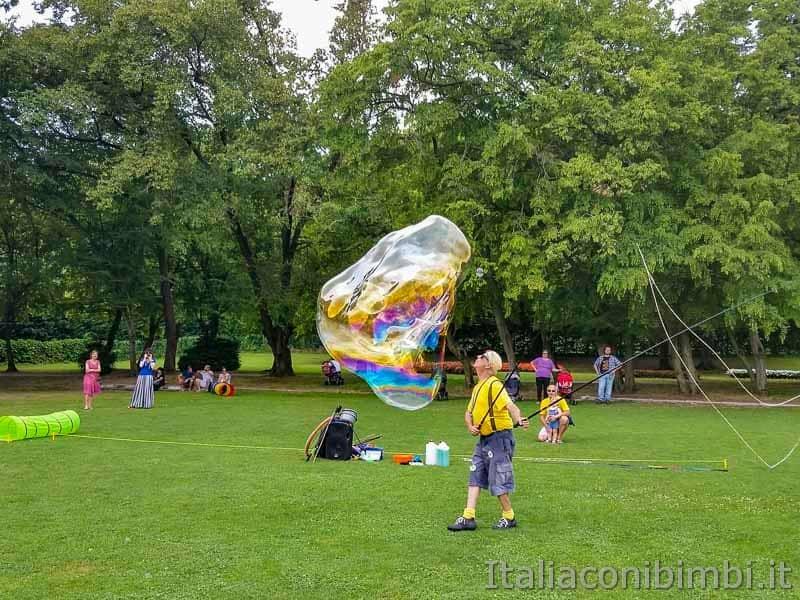 Parco Sigurtà - bolle giganti