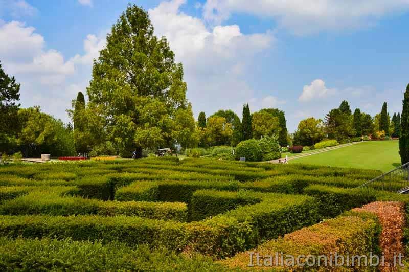 Parco Sigurtà - labirinto dall'alto