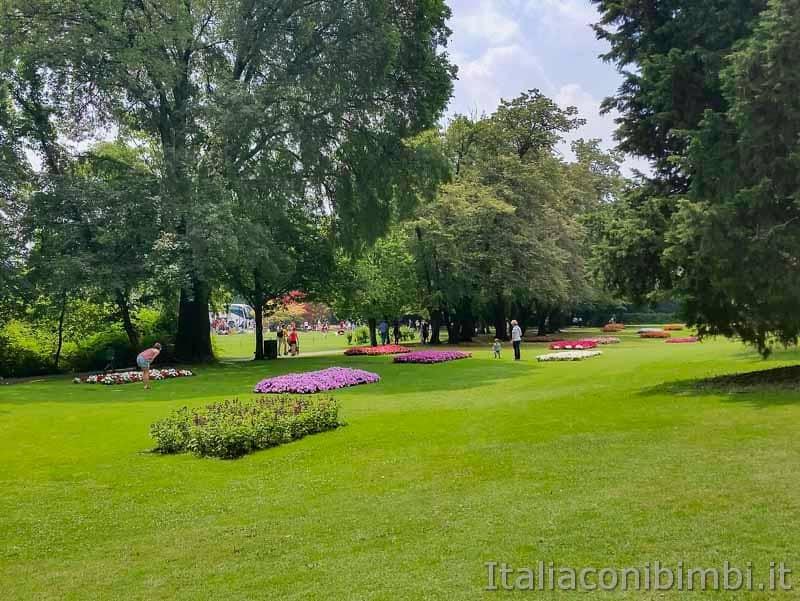 Parco Sigurtà - prati verdi e fiori