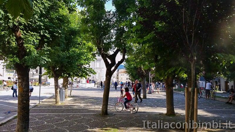 Rocca di Mezzo - centro pedonale