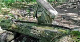 Sentiero delle Sorgenti - Alpe Cimbra- fontanela del trughele altro lato
