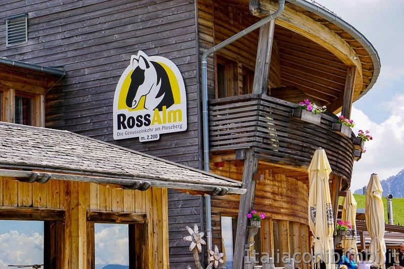 WoodyWalk sulla Plose- rifugio Rossalm