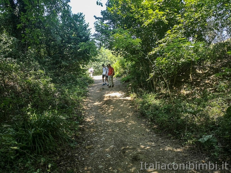 cascatelle di Sarnano- andando verso la cascata del vecchio mulino