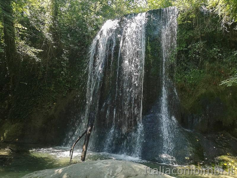 cascatelle di Sarnano- cascata de lu Vagnato grande