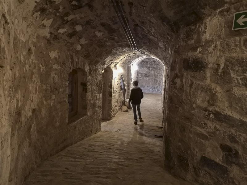 Forte delle Benne- corridoio 2
