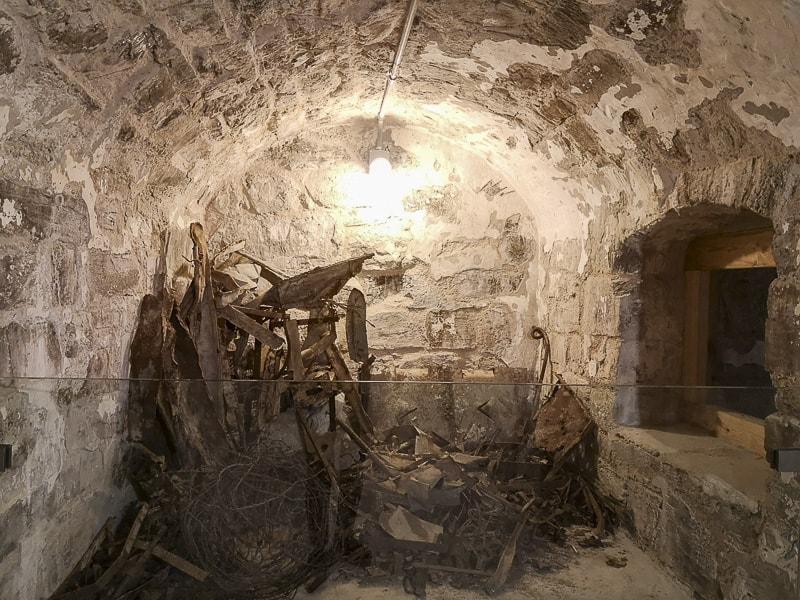 Forte delle Benne- interni altre stanze