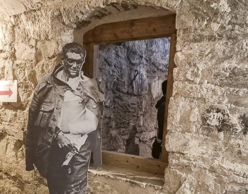 Forte delle Benne- soldato