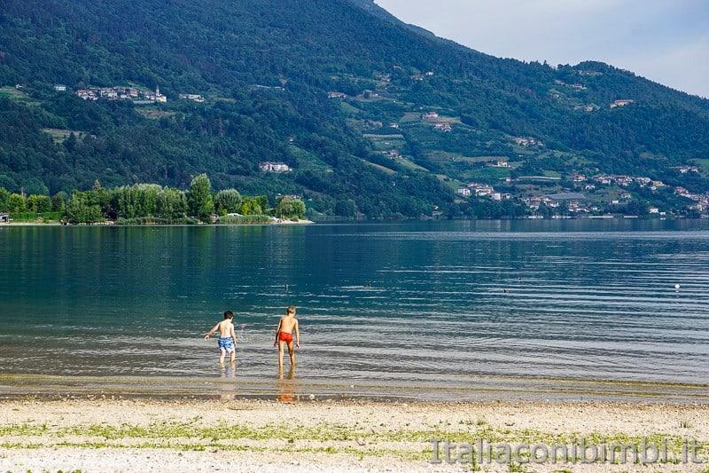 Lago di Caldonazzo- bambini