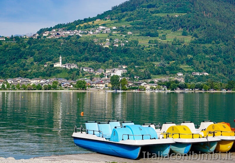 Lago di Caldonazzo- pattini