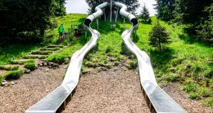 Mondo avventura montagna Racines- doppio scivolo gigante