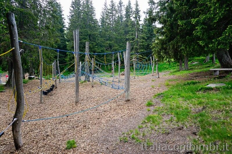 Mondo avventura montagna- reti e corde