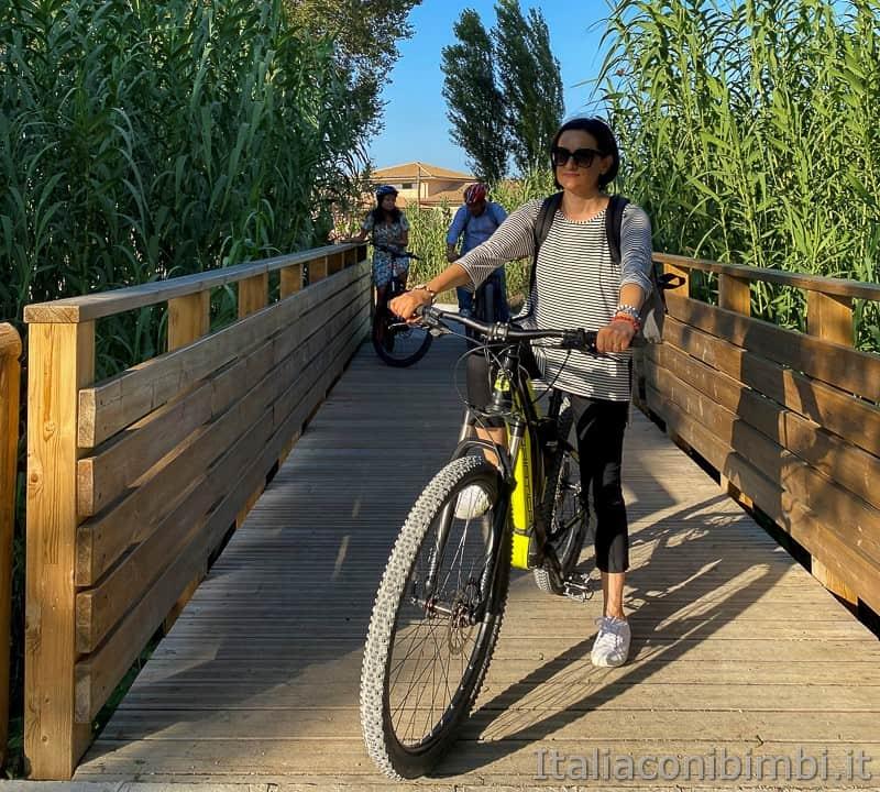 Osimo- ciclabile di Campocavallo io in bici