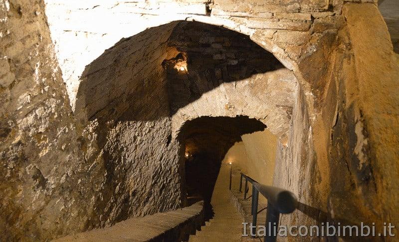 Osimo- discesa alle grotte