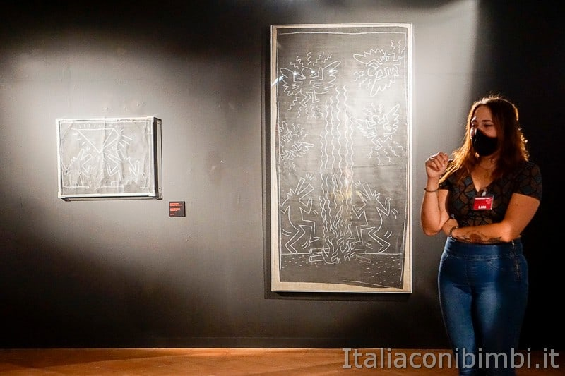 Osimo- mostra di Keith Haring.