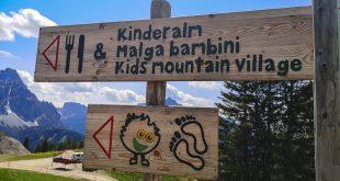 Parco natura Olperl Monte Elmo- indicazioni sentiero