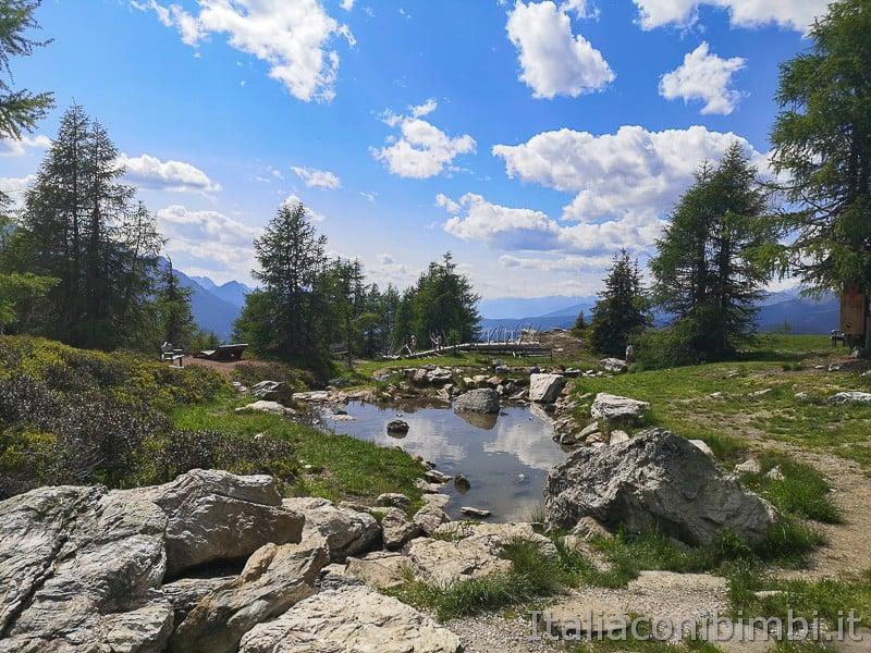 Parco natura Olperl Monte Elmo- laghetto
