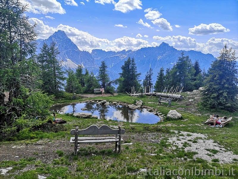 Parco natura Olperl Monte Elmo- laghetto grande