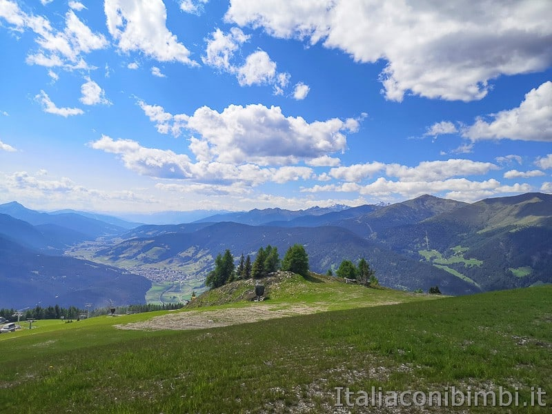 Parco natura Olperl Monte Elmo- vista panoramica
